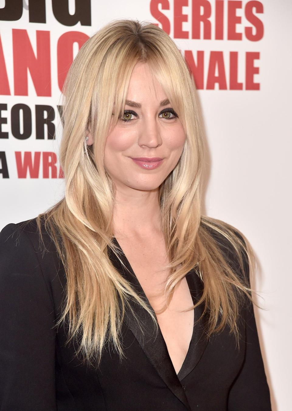 """<p>Kaley Cuoco, who plays sexy girl-next-door Penny, will be taking her talents to voice acting after the conclusion of <strong>The Big Bang Theory</strong>, <a href=""""http://ew.com/tv/2018/10/03/kaley-cuoco-harley-quinn-dc-universe-animated-series/"""" rel=""""nofollow noopener"""" target=""""_blank"""" data-ylk=""""slk:voicing Harley Quinn and serving as executive producer"""" class=""""link rapid-noclick-resp"""">voicing Harley Quinn and serving as executive producer</a> in the animated series of the same name, debuting on the DC Universe streaming service in October. She'll also <a href=""""http://deadline.com/2017/10/kaley-cuoco-pod-deal-warner-bros-tv-the-flight-attendant-1202196368/"""" rel=""""nofollow noopener"""" target=""""_blank"""" data-ylk=""""slk:star in and produce the television adaptation of Chris Bohjalian's thriller novel"""" class=""""link rapid-noclick-resp"""">star in and produce the television adaptation of Chris Bohjalian's thriller novel</a> <strong>The Flight Attendant</strong>, which tells the story of a woman who wakes up next to a dead body with no idea how she - or the body - got there.</p> <p>As far as seeing Penny in a spin-off series, Cuoco revealed to <strong>Entertainment Tonight</strong> that <a href=""""http://www.etonline.com/kaley-cuoco-says-shes-thrilled-with-where-penny-ends-up-in-the-big-bang-theory-series-finale-124471"""" rel=""""nofollow noopener"""" target=""""_blank"""" data-ylk=""""slk:the only person she would say yes to would be TBBT series creator and executive producer Chuck Lorre"""" class=""""link rapid-noclick-resp"""">the only person she would say yes to would be <strong>TBBT</strong> series creator and executive producer Chuck Lorre</a>. """" . . . if Chuck came and said let's do it, I'd say yes,"""" she explained. """"Other than that, I don't see a spin-off for myself. But I don't like to say no to Chuck. So if he wanted it, I'm in.""""</p>"""