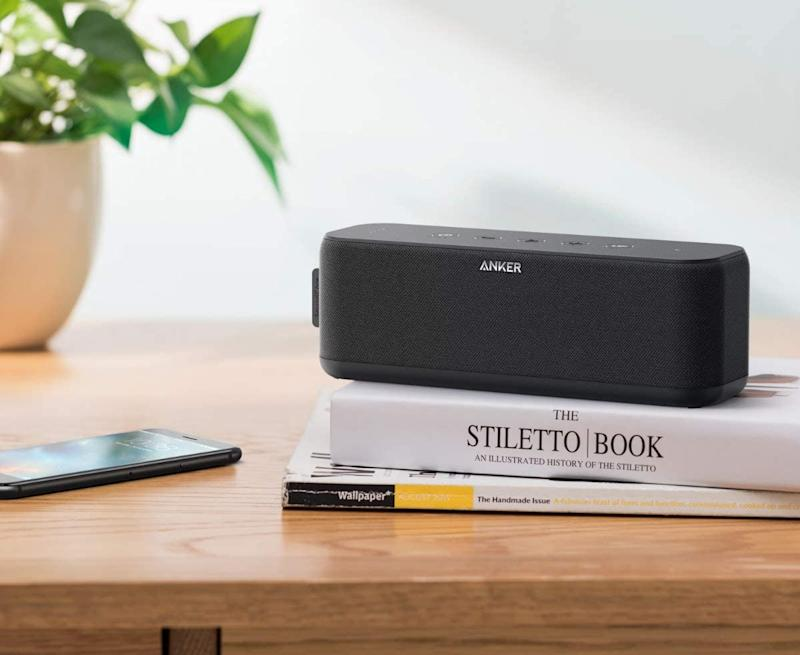 Today only: Save up to 43 percent on select Anker Soundcore Bluetooth speakers. (Photo: Amazon)