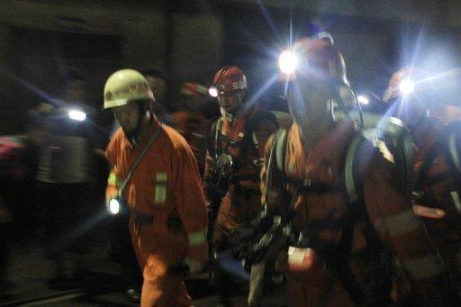 The latest official figures show 1,973 people died in coal mining accidents in China in 2011