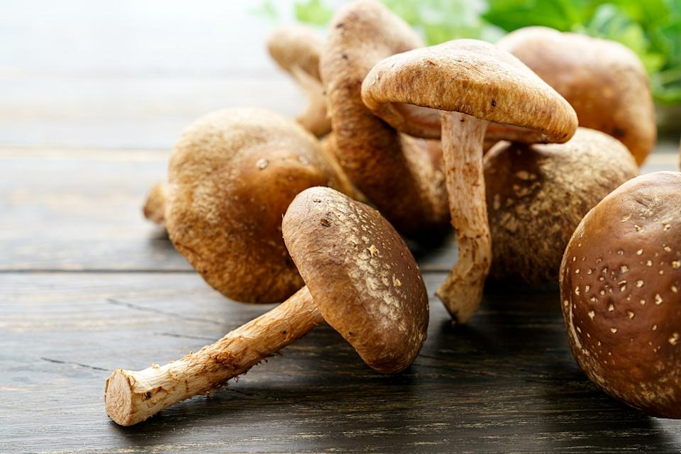 Mushrooms are the only vegetarian source of ergosterol, a Vitamin D precursor. That means that when mushrooms are exposed to sunlight during their growth period, they convert the ergosterol directly into Vitamin D