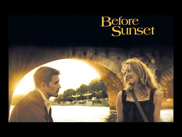 <b>3. Before Sunset </b><br> There is only one concern with 'Before Sunset'- after its running time of 80 minutes - it ends. It is a diminutive movie by budget, and massive in its romance. It is one of those romantic movies that will make you doing trips to your DVD player every time you seek entanglement. Nine years after Celine and Jesse parted ways, they bump into each other on a book tour and try to rekindle their romance.