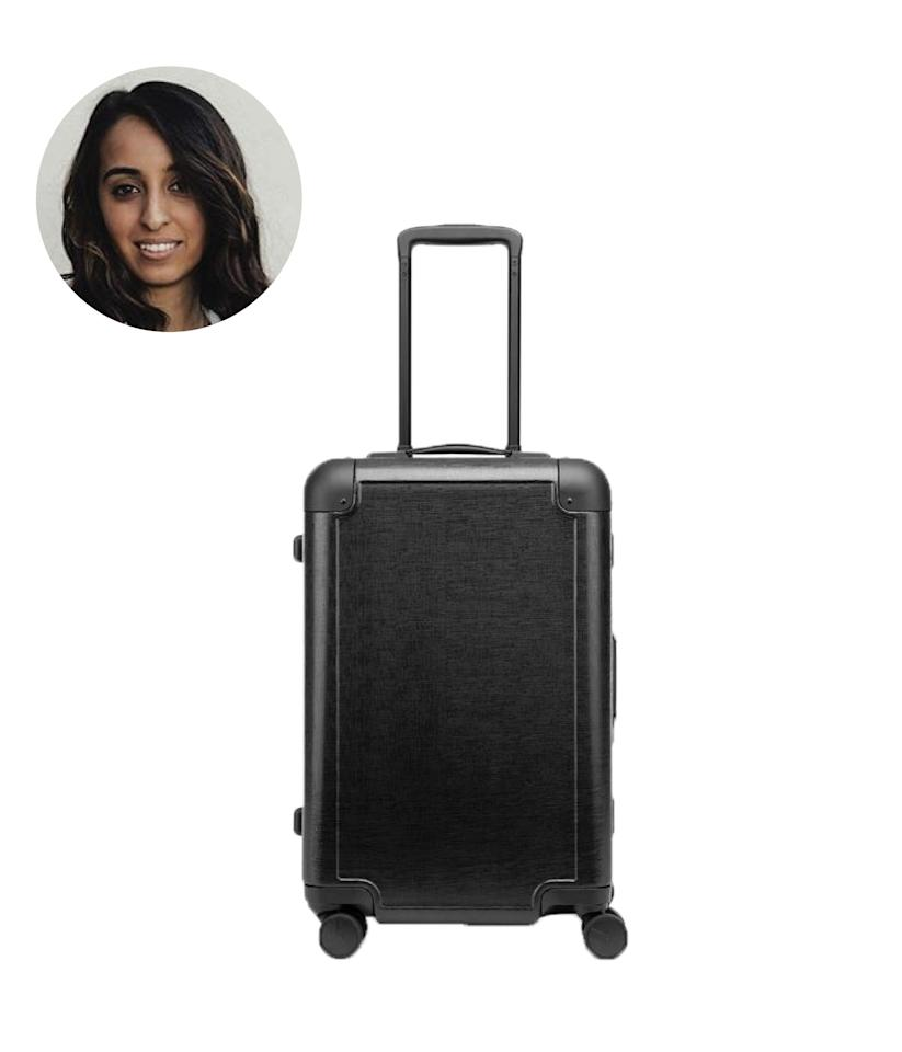 """$285, Calpak. <a href=""""https://www.calpaktravel.com/collections/carry-on/products/jen-atkin-carry-on-luggage?variant=23682902229050"""">Get it now!</a>"""
