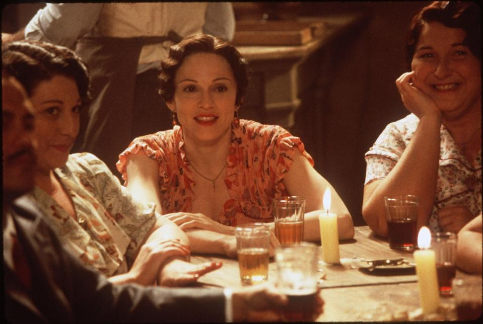 Madonna wrote director Alan Parker a letter to beg for the role (PUBLICITY PIC)