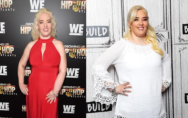 Mama June Shannen in May 2017 / June 2018. (Photo: Getty Images)