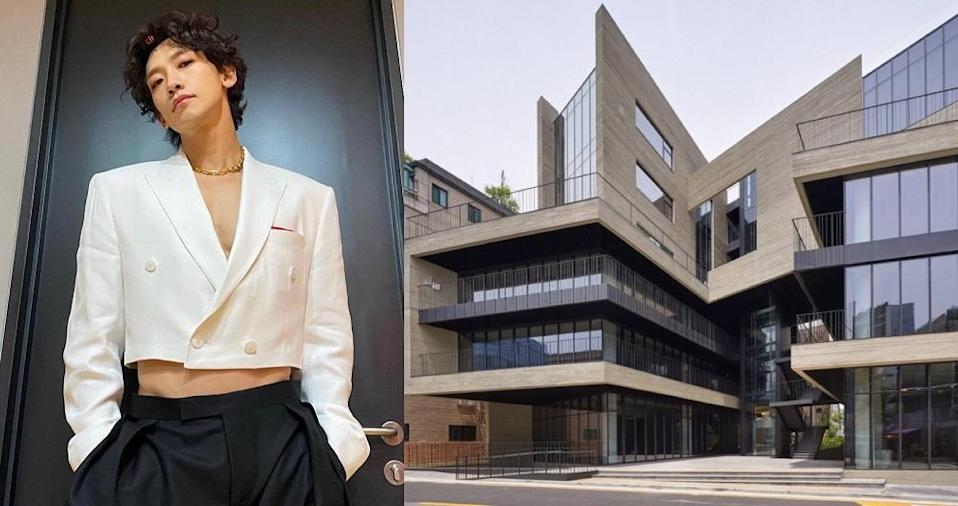 Rain managed to sell the building for almost three times what he originally paid in 2008. — Pictures via Instagram/rain_oppa and Korean Architecture Award website