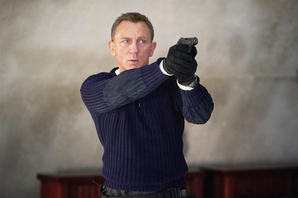 """<p><a class=""""link rapid-noclick-resp"""" href=""""https://www.popsugar.co.uk/Daniel-Craig"""" rel=""""nofollow noopener"""" target=""""_blank"""" data-ylk=""""slk:Daniel Craig"""">Daniel Craig</a>'s <a href=""""https://www.popsugar.com/entertainment/james-bond-25-no-time-to-die-movie-trailer-46964406"""" class=""""link rapid-noclick-resp"""" rel=""""nofollow noopener"""" target=""""_blank"""" data-ylk=""""slk:final mission as James Bond"""">final mission as James Bond</a> was originally dropping into theaters on April 10, before it was pushed back to premiering <a href=""""https://variety.com/2020/film/news/no-time-to-die-release-date-change-james-bond-1234634095/"""" class=""""link rapid-noclick-resp"""" rel=""""nofollow noopener"""" target=""""_blank"""" data-ylk=""""slk:in the UK on Nov. 12 and in the US on Nov. 20"""">in the UK on Nov. 12 and in the US on Nov. 20</a>. The film was recently pushed back further to release worldwide on Oct. 8, 2021.</p>"""