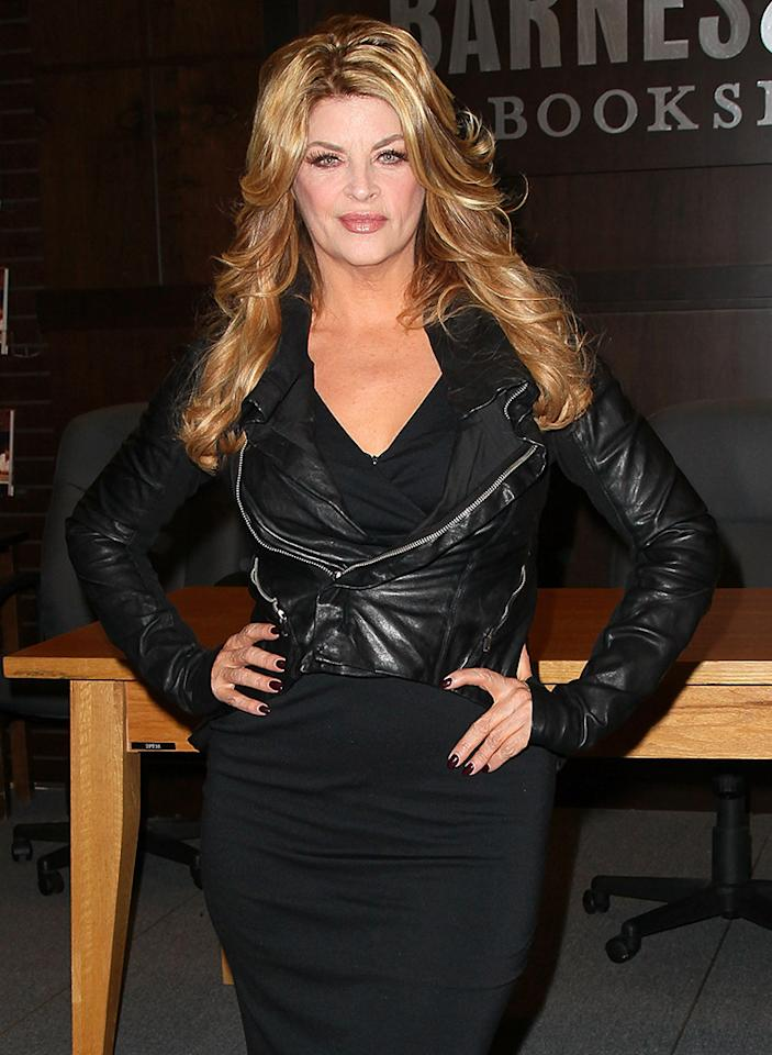 "Kirstie Alley Book Signing For ""The Art Of Men"""