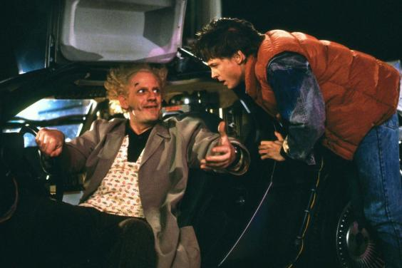 For kids, parents and nerds alike, 'Back to the Future' never fails to entertain (Universal/Rex)