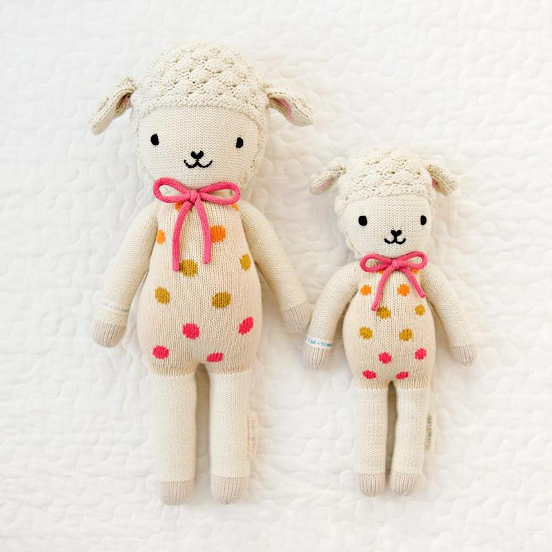 Lucy the lamb. Available in two sizes.