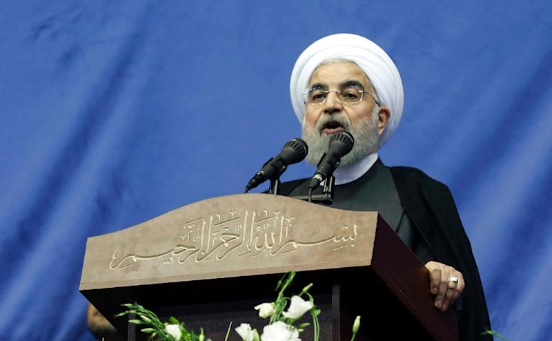 Iranian President and presidential candidate Hassan Rouhani has made including online freedom a key theme of his campaign