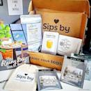 """<p>sipsby.com</p><p><strong>$15.00</strong></p><p><a href=""""https://go.redirectingat.com?id=74968X1596630&url=https%3A%2F%2Fwww.sipsby.com%2Fcollections%2Ftea-boxes%2Fproducts%2Frainy-day-tea-box&sref=https%3A%2F%2Fwww.redbookmag.com%2Flife%2Fg34761712%2Fgifts-for-boyfriends-mom%2F"""" rel=""""nofollow noopener"""" target=""""_blank"""" data-ylk=""""slk:Shop Now"""" class=""""link rapid-noclick-resp"""">Shop Now</a></p><p>For the MIL who loves living like a royal, this Sips By tea box is the perfect pick-me-up for a rainy day, or tbh, more like everyday. It features cozy flavors like chai and a turmeric latte. </p>"""