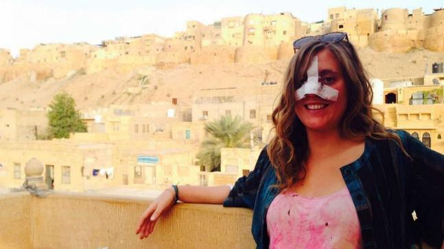 Stray animal attacks have become a growing concern in the famous tourist destination of Jaisalmer, as recently a British national was hit by cow and injured badly on her visit to Sonar Fort.