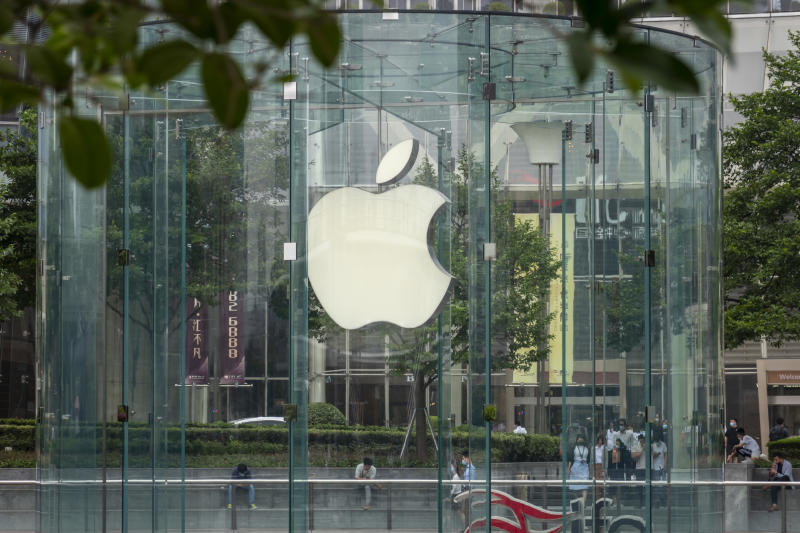 Apple store in Shanghai, China.  (Photo: Wang Gang / VCG via Getty Images)