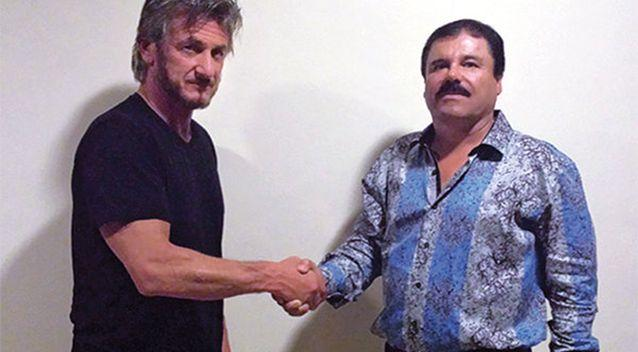 Officials are investigating Sean Penn and a Mexican actress over their meeting with Joaquin 'El Chapo' Guzman. Photo: Rolling Stone