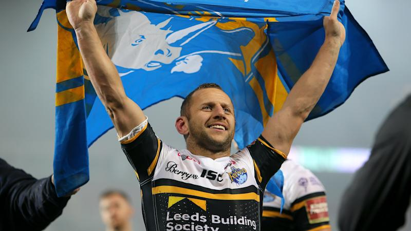Leeds great Rob Burrow given Challenge Cup final honour from home