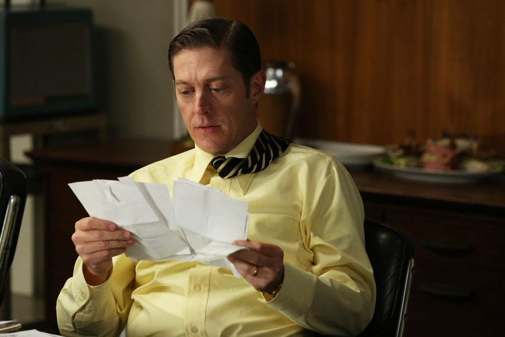 "Ted Chaough (Kevin Rahm) in the ""Mad Men"" episode, ""The Better Half."""