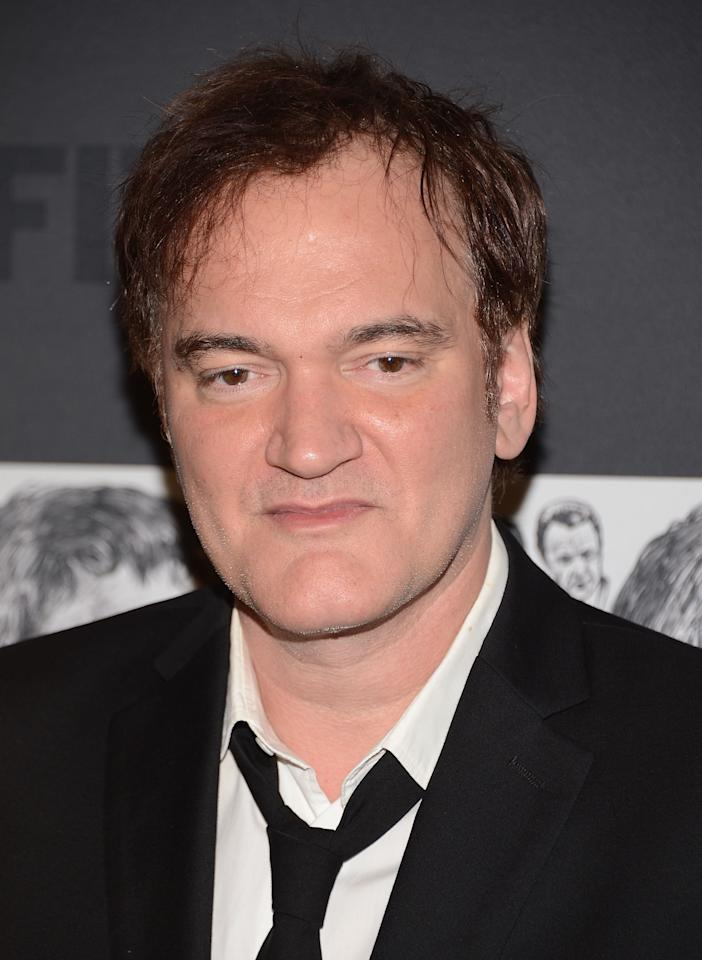 NEW YORK, NY - DECEMBER 03: Filmmaker Quentin Tarantino attends The Museum of Modern Art Film Benefit Honoring Quentin Tarantino at MOMA on December 3, 2012 in New York City.  (Photo by Andrew H. Walker/Getty Images)