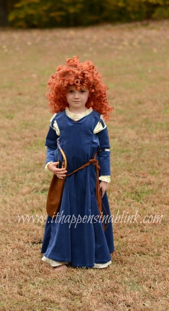 """<p>If your daughter can't get stop watching the movie <em>Brave</em>, she'll love this princess costume. Even if you're not an expert sewer, this blogger notes it's pretty simple to make the dress.</p><p><strong>Get the tutorial at <a href=""""https://ithappensinablink.com/disney-brave-merida-costume-with-simplicity-pattern-1557/"""" rel=""""nofollow noopener"""" target=""""_blank"""" data-ylk=""""slk:It Happens in a Blink"""" class=""""link rapid-noclick-resp"""">It Happens in a Blink</a>.</strong> </p>"""