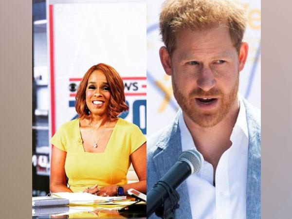 Gayle King and Prince Harry (Image Source: Instagram)