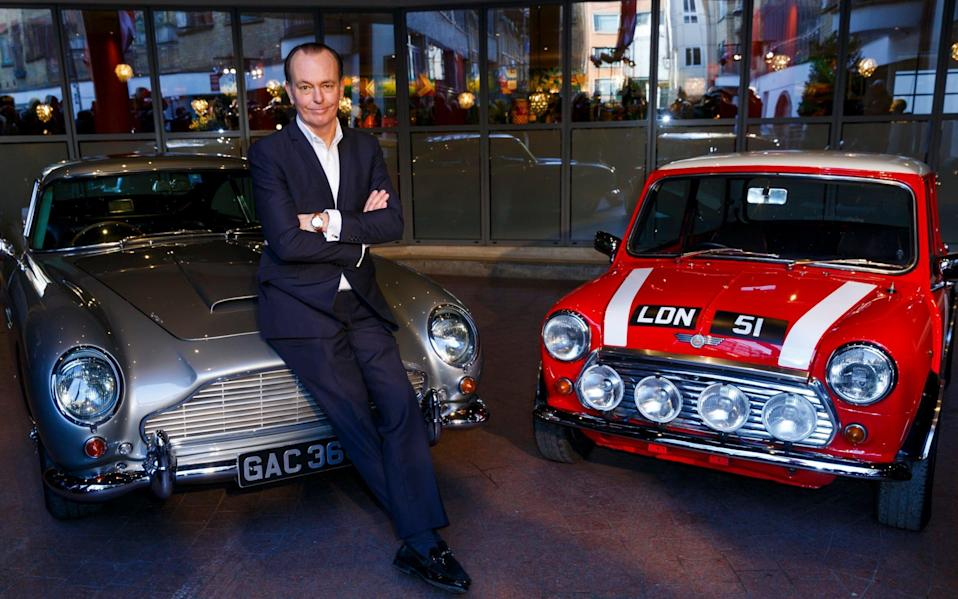 Quentin Willson, formerly of Top Gear, invested in and promoted the scheme - Getty Images