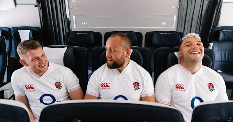 Ruaridh McConnochie was one of four uncapped players named in England's training squad, but the only one to make the final cut