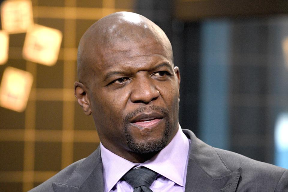 """NEW YORK, NEW YORK - JANUARY 22: Terry Crews visits the Build Series to discuss """"AGT: Champions"""" and the NBC Series """"Brooklyn Nine-Nine"""" at Build Studio on January 22, 2020 in New York City. (Photo by Gary Gershoff/Getty Images)"""