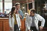 """<p>This old-school CW dramedy veers into the soapy side of things on occasion, but for the most part, it's a sweet romantic comedy that is cheerfully aware of its own silliness. It comes with a Hallmark-ready premise: a New York doctor (<a class=""""link rapid-noclick-resp"""" href=""""https://www.popsugar.co.uk/Rachel-Bilson"""" rel=""""nofollow noopener"""" target=""""_blank"""" data-ylk=""""slk:Rachel Bilson"""">Rachel Bilson</a>) unexpectedly has to move to take over a practice in a small Alabama town and finds herself quickly embroiled in the quirky plots and charms of her new home and its denizens. </p> <p><a href=""""http://www.netflix.com/title/70196150"""" class=""""link rapid-noclick-resp"""" rel=""""nofollow noopener"""" target=""""_blank"""" data-ylk=""""slk:Watch Hart of Dixie on Netflix"""">Watch <strong>Hart of Dixie</strong> on Netflix</a>.</p>"""