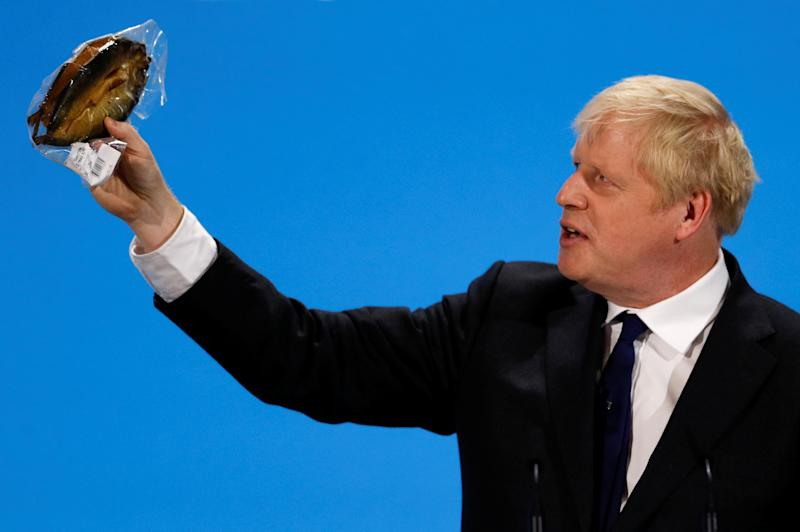 Boris Johnson (REUTERS/Peter Nicholls)