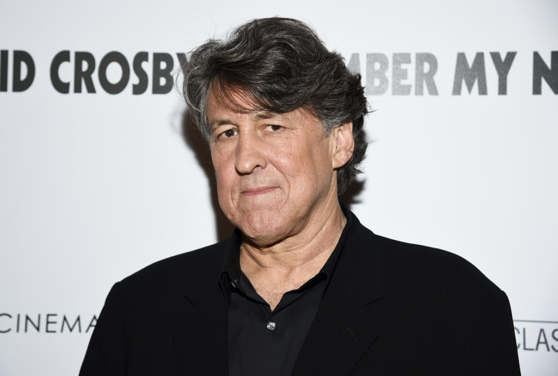"Producer Cameron Crowe attends a special screening of ""David Crosby: Remember My Name"", hosted by Sony Pictures Classics and The Cinema Society, at The Roxy Cinema on Tuesday, July 16, 2019, in New York. (Photo by Evan Agostini/Invision/AP)"