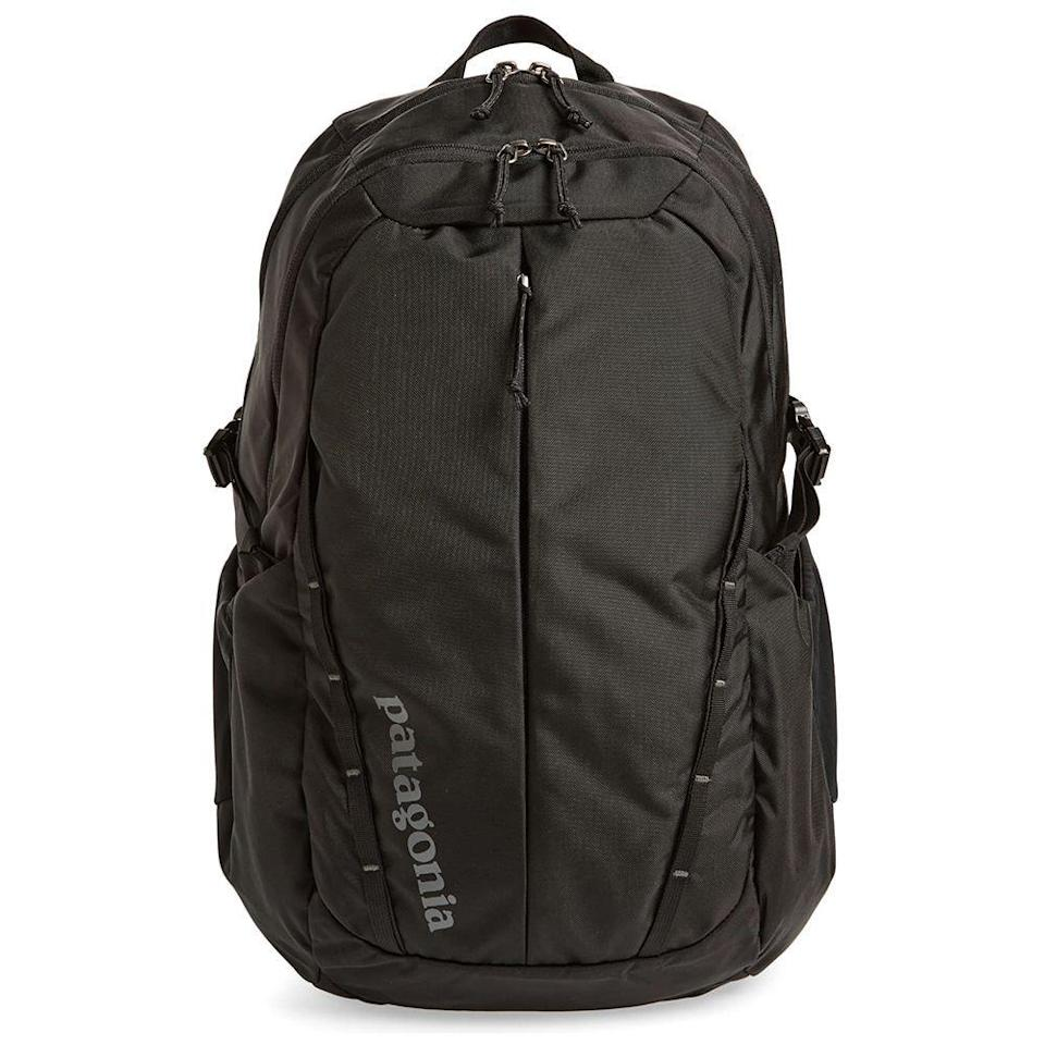 """<p><strong>PATAGONIA</strong></p><p>nordstrom.com</p><p><strong>$58.90</strong></p><p><a href=""""https://go.redirectingat.com?id=74968X1596630&url=https%3A%2F%2Fwww.nordstrom.com%2Fs%2Fpatagonia-28-liter-refugio-nylon-backpack%2F4727354&sref=https%3A%2F%2Fwww.menshealth.com%2Fstyle%2Fg33510339%2Fnordstrom-anniversary-sale-2020%2F"""" rel=""""nofollow noopener"""" target=""""_blank"""" data-ylk=""""slk:Shop Now"""" class=""""link rapid-noclick-resp"""">Shop Now</a></p><p><strong><del>$89</del> $58.90 (33% off)</strong></p><p>Anyone who wants to embark on a hiking trip will find a lot to love about Patagonia's backpack. This option has plenty of room to fit your gear, while the nylon exterior will help combat whatever Mother Nature throws its way.</p>"""