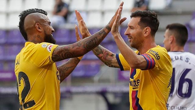 LaLiga: Barcelona keep title race alive with narrow win over Valladolid; Atletico Madrid edge past Real Betis
