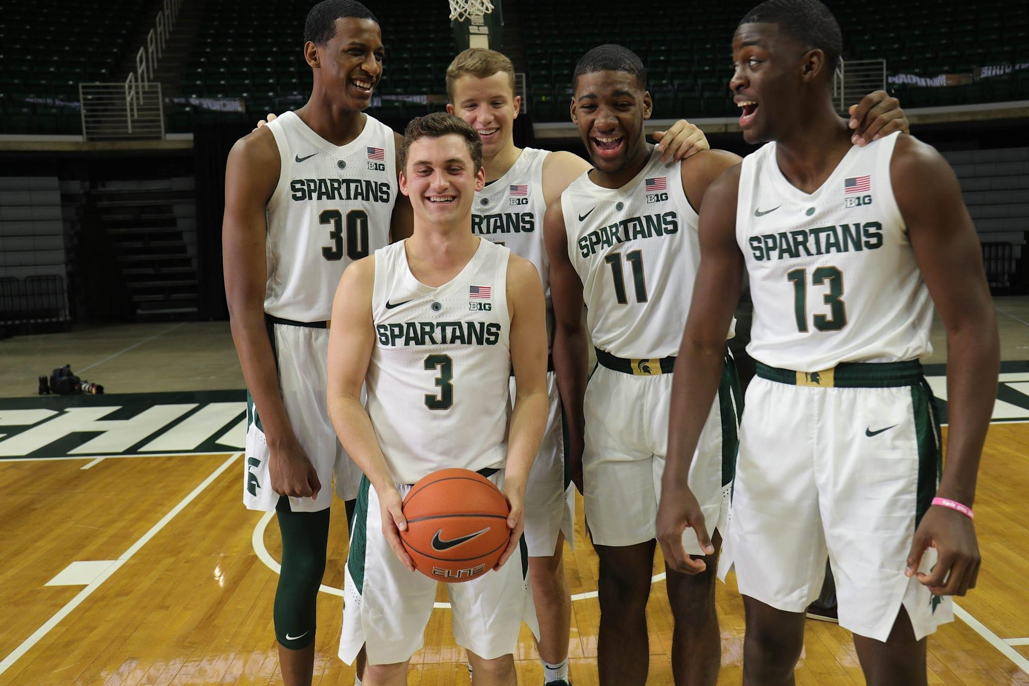Michigan State basketball's new-look leadership preparing for an opener without Tom Izzo