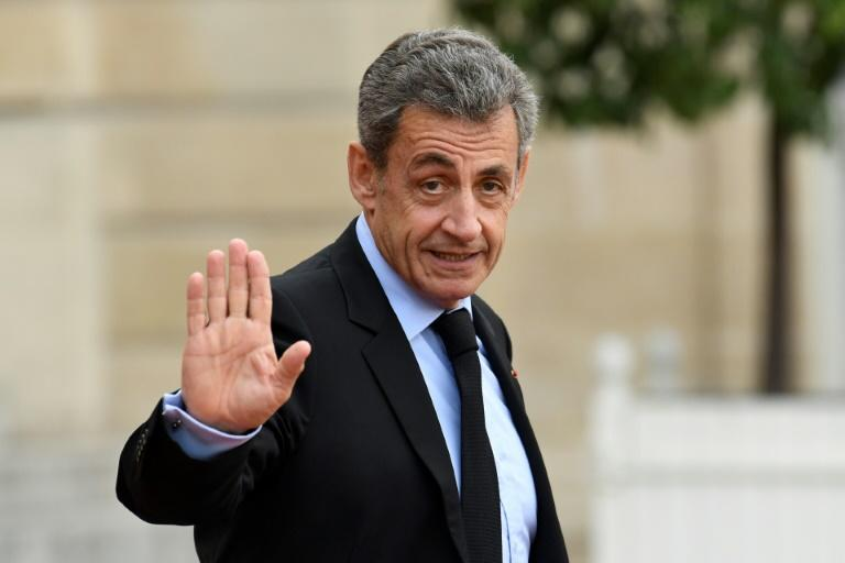 Nicolas Sarkozy, 64, lost his final appeal to France's highest criminal court, and risks a year in prison and a fine of 3,750 euros ($4,085) if found guilty (AFP Photo/Bertrand GUAY)