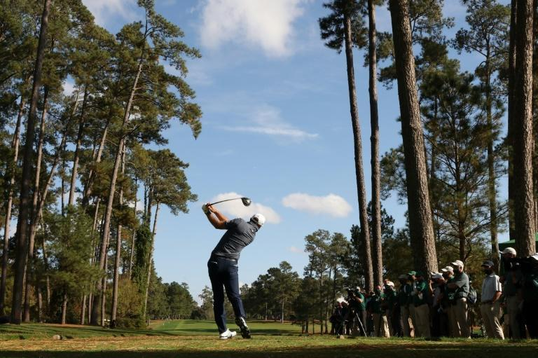 Sunday afternoon drive for Masters champion Dustin Johnson