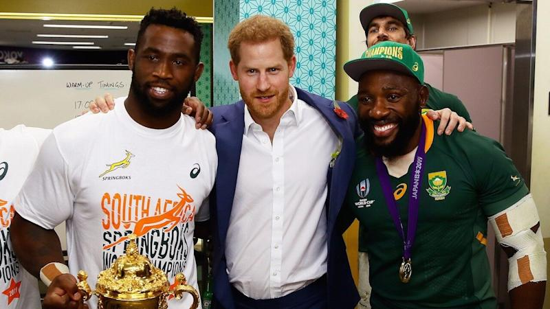 Prince Harry Makes First Official Visit to Japan for Rugby World Cup Final