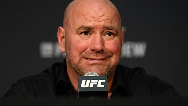 UFC President Dana White. (Photo By Stephen McCarthy/Sportsfile via Getty Images)
