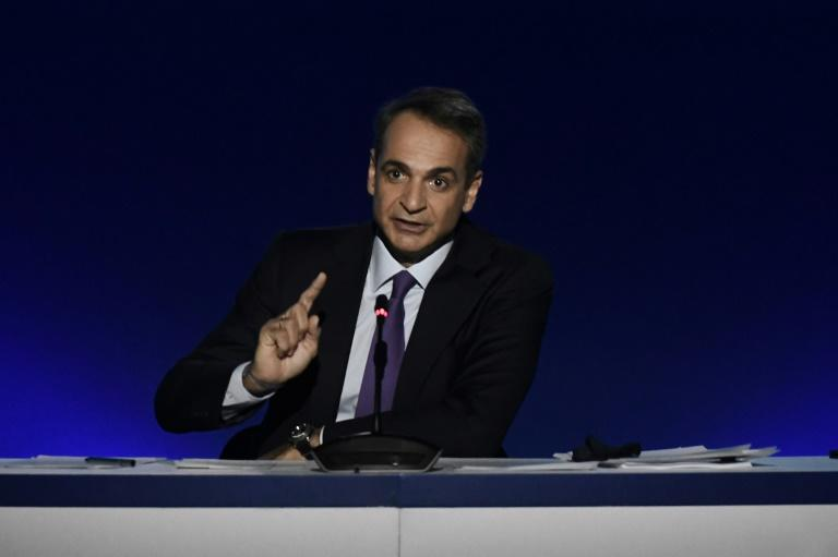 Kyriakos Mitsotakis has taken a harder line on migrants