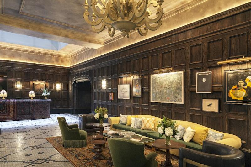 New Yorks Latest Luxury Hotel The Beekman Features Tom Colicchio