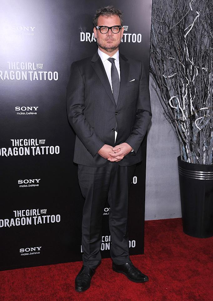 """<a href=""""http://movies.yahoo.com/movie/contributor/1807768323"""">Yorick van Wageningen</a> at the New York premiere of <a href=""""http://movies.yahoo.com/movie/1810163569/info"""">The Girl With the Dragon Tattoo</a> on December 14, 2011."""