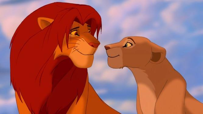Simba and Nala in the original 1994 version of 'The Lion King'. (Credit: Disney)