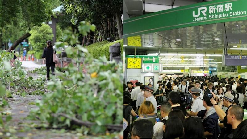 Typhoon Faxai Hits Japan's Tokyo With Strong Speed, Triggers Transport Chaos, Power Cuts