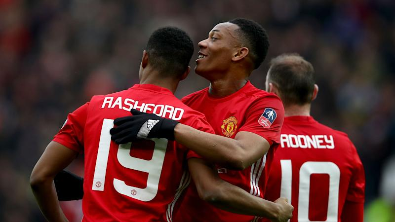 Rooney wants greedy Rashford, has high hopes for Martial