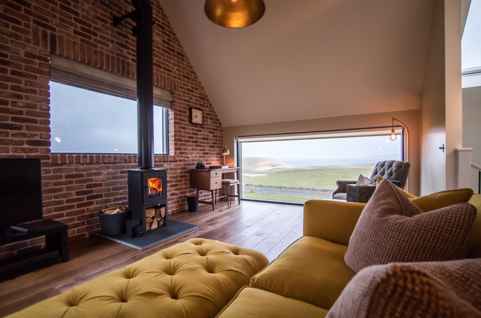 """<p>An isolated pair of houses on the Isle of Harris, the Sheep Station brings a little luxury to the Outer Hebrides, in the form of Bollinger on arrival, Egyptian-cotton bedding and Bamford bath products. Choose from the slightly bigger House One, or the single-storey House Two – each has a log-burning stove, super-king-size bed and ensuite marble bathroom. The most important bit is the Atlantic-facing outdoor deck, with chairs perfectly positioned to enjoy the midnight sun in the summer and the Northern Lights come winter. </p><p>Three nights, from £900 (<a href=""""https://www.thesheepstation.co.uk/"""" rel=""""nofollow noopener"""" target=""""_blank"""" data-ylk=""""slk:thesheepstation.co.uk"""" class=""""link rapid-noclick-resp"""">thesheepstation.co.uk</a>).</p>"""