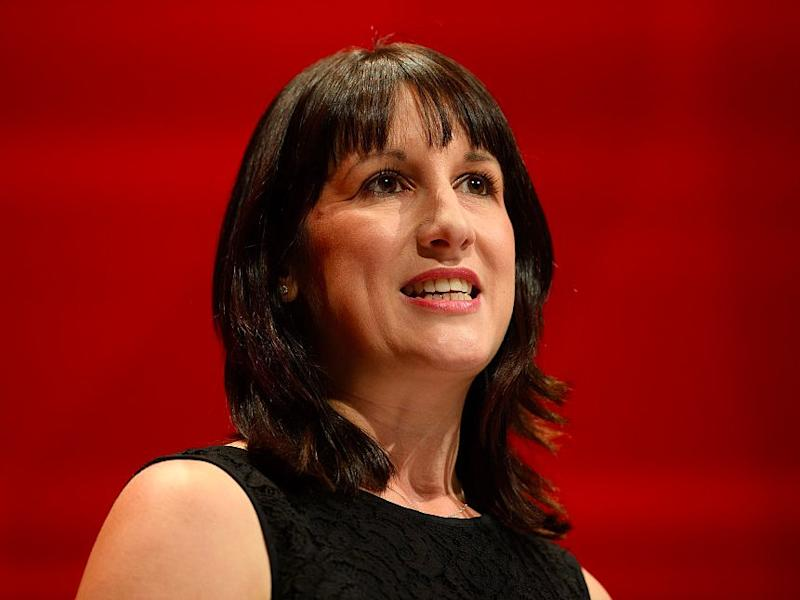 Labour MP Rachel Reeves leads a tribute to the murdered Labour MP Jo Cox on the first day of the Labour Party Conference in the Exhibition Centre Liverpool on September 25, 2016 in Liverpool, England. Party leader Jeremy Corbyn will hope to re-unite the party after being re-elected leader yesterday. (Photo by )