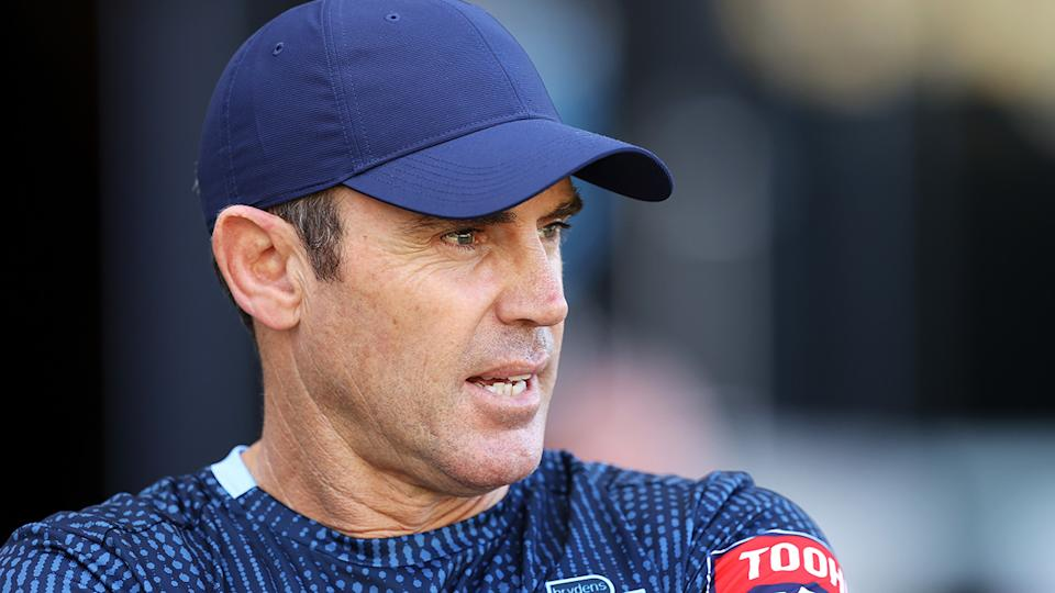 Blues coach Brad Fittler is keen for NSW to seize a rare opportunity for a State of Origin whitewash. (Photo by Mark Kolbe/Getty Images)