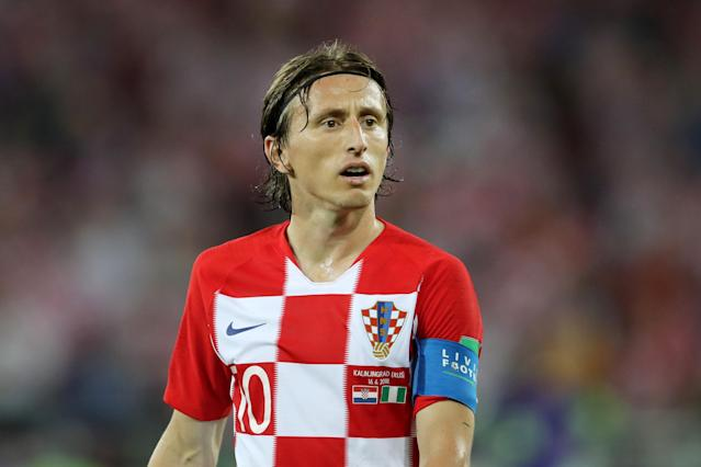 Luka Modric is Croatia's captain and a Ballon d'Or dark horse. (Getty)