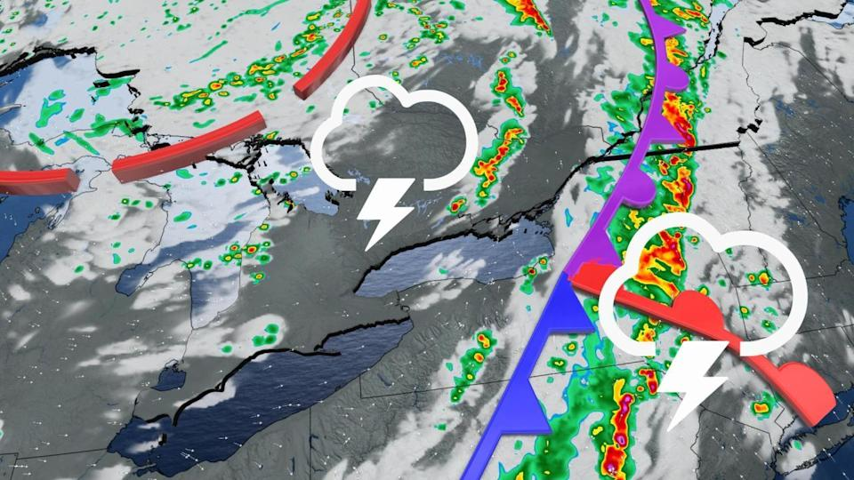 Dynamic atmosphere boosts storm threat across Ontario and Quebec
