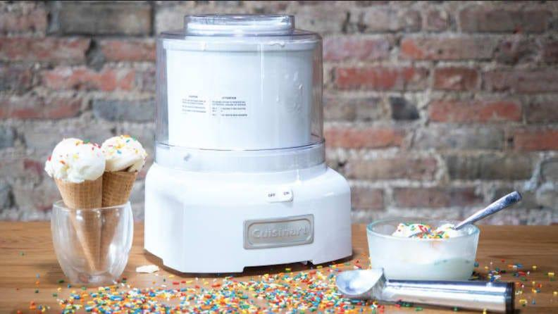 This ice cream maker is versatile and easy to use.