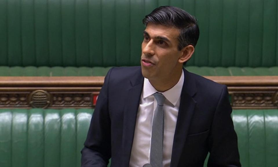 Chancellor of the Exchequer Rishi Sunak delivers a summer economic update in a statement to the House of Commons, London. (Photo: PA)