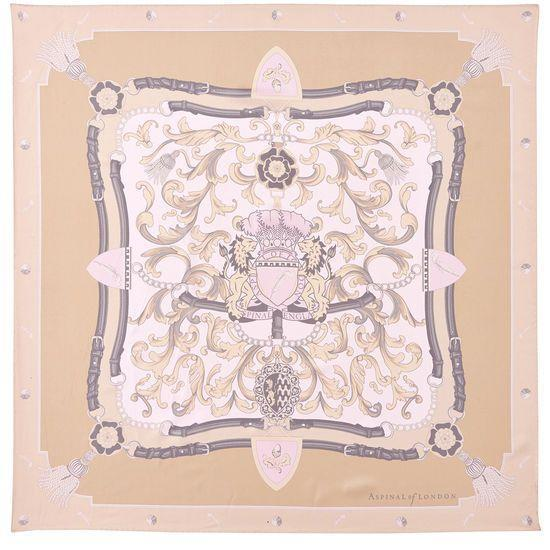 """<p>Silk scarf, £125, Aspinal of London</p><p><a class=""""link rapid-noclick-resp"""" href=""""https://go.redirectingat.com?id=127X1599956&url=https%3A%2F%2Fwww.aspinaloflondon.com%2Fproducts%2Faspinal-signature-silk-scarf-in-nude&sref=https%3A%2F%2Fwww.townandcountrymag.com%2Fuk%2Fstyle%2Fg34571556%2Fstyle-icon-princess-anne%2F"""" rel=""""nofollow noopener"""" target=""""_blank"""" data-ylk=""""slk:SHOP NOW"""">SHOP NOW</a></p>"""
